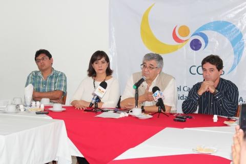 El CCGSS da a conocer su informe 2013 y Plan Estratégico Institucional